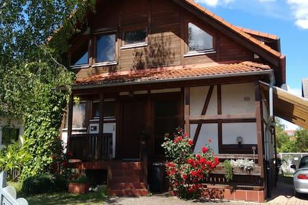 Gemütliches Holzhaus mit Style - Apartamento