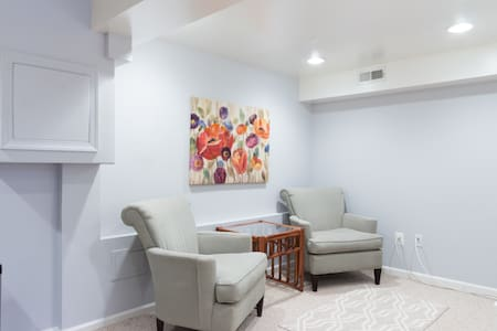 Lovely 1 bd apt in DC, free parking - Washington - Apartment