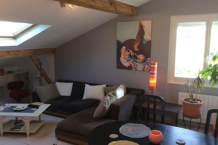 Chambre avec superbe vue Pyrennees - Daire