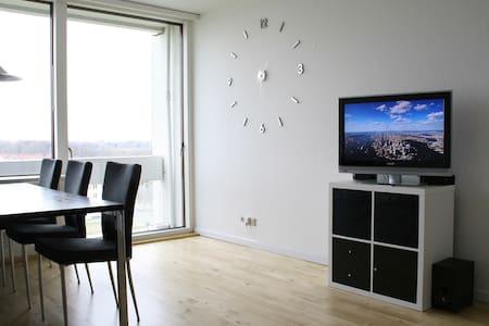 70 kvm på 7. etage med udsigt - Viby - Lejlighed