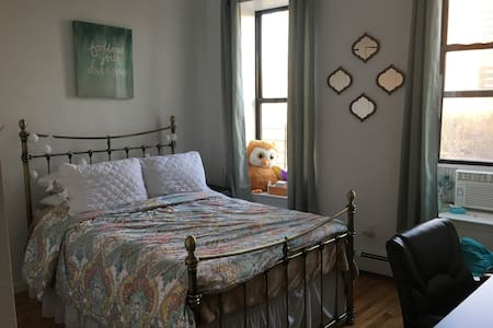 Private bedroom in 3BR apt in Harlem - New York - Apartment