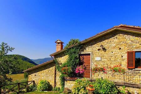 Beautiful Villa For Couples Tuscany - Caprese Michelangelo