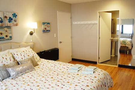 Cozy Convenient Room with attached Bath - Queens - Apartment