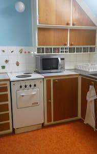 """Egen"" lägenhet i femtiotalsradhus - Apartment"