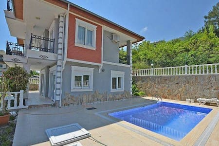 Private Pool  & Garden Villa - Alanya - Villa