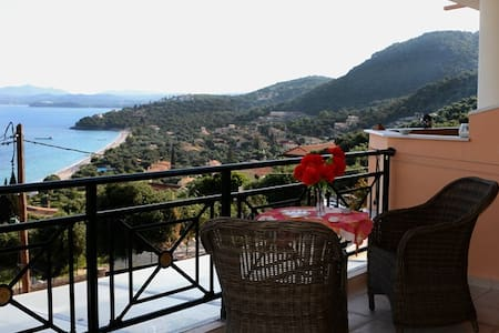 New apartment of 70 sq.m. sea view - Corfú - Bed & Breakfast