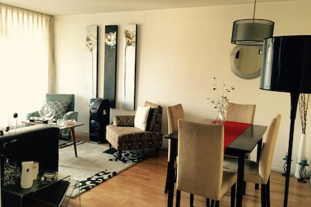Habitación en barrio cívico de Santiago - Santiago - Apartment