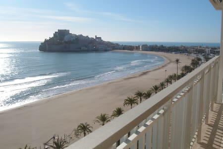 Locación 1er línea de playa, los pies en el agua - Apartment