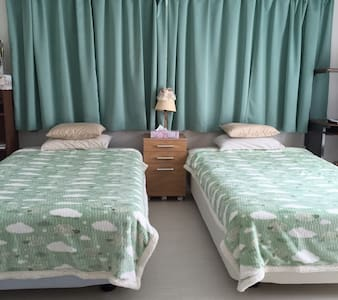 Comfy Private Twin Room in Ishigaki - Ishigaki-shi - Apartment