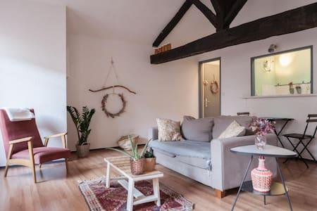 Studio de charme au centre du quartier historique - Bordeaux - Appartement