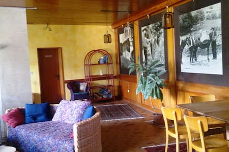 Charming traditional apartment - Zeneggen - Apartment