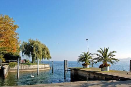 Wohnen direkt am Bodensee mit eigenem Badesteg... - Apartment