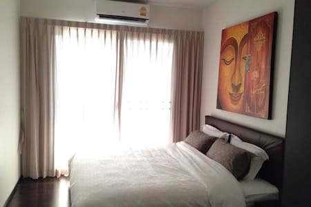 Quiet Studio, pool, beach, aircon, tv, laundry - Rawai