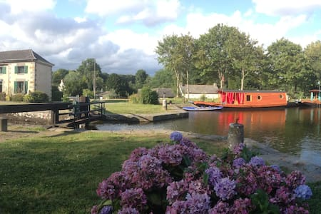Glamping on the Ille et Rance canal - Hédé-Bazouges - Boot