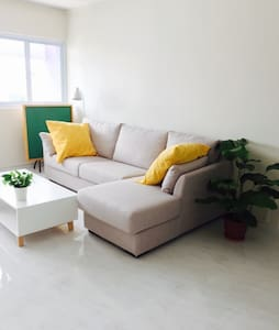 2min walk mrt,new/AirCon/wifi/city - Singapore - Appartamento