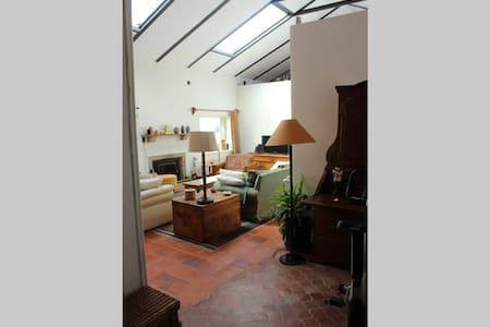 Habitación doble en casa campo - Hus