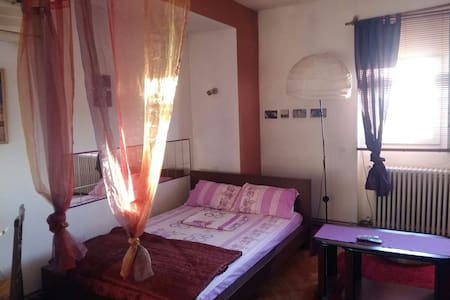 central historical studio fast wifi - Bucarest - Appartement