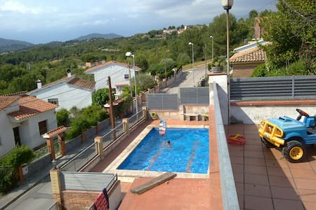 Single House with pool and views - Les Carpes