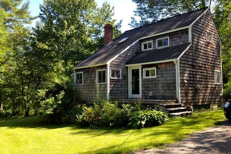 Fabulous cottage on 8 private acres - Lincolnville - Casa