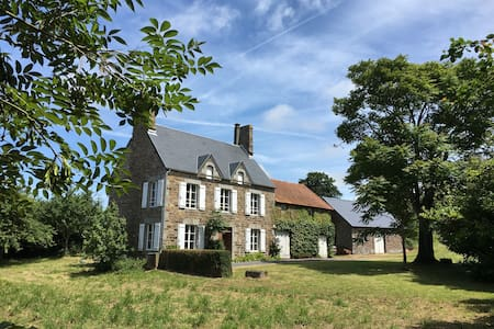 Secluded Normandy farmhouse not far from beach - Huis