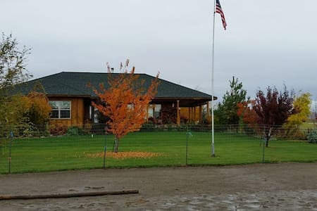 Country Tranquility with Horse Accommodations - Ellensburg