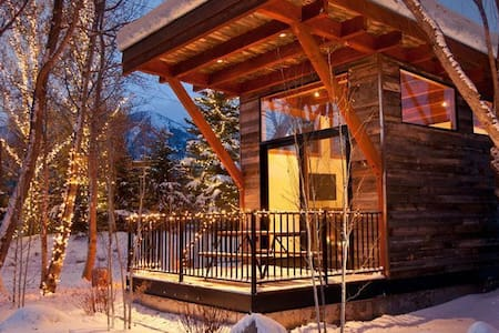 Modern rustic luxury in the heart of Jackson Hole.  Located just minutes from Jackson Hole Mountain Resort ski area and the majestic Grand Teton National Park.  Only 7 miles from the Jackson Town Square.  Sustainably built; LEED certified.