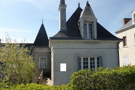 Gite de charme 3 ***en bord de Loire  6 à 8 pers. - Bréhémont - Huis