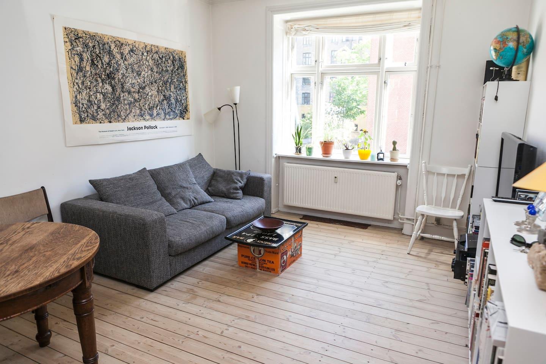 Classical cosy Nørrebro Apartment