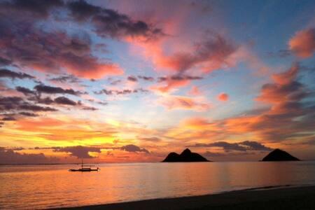 A minute walk to Lanikai beach - Kailua - Apartment