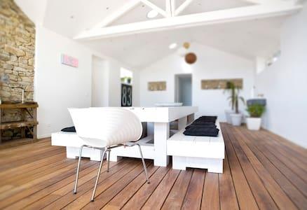 SALLES DE RECEPTION WHITE CORNER + 9 couchages - Orvault - Villa