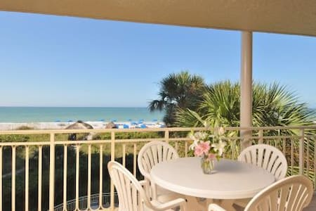 Beach Front 2 Bed 2 Bath Condo - Longboat Key - Társasház