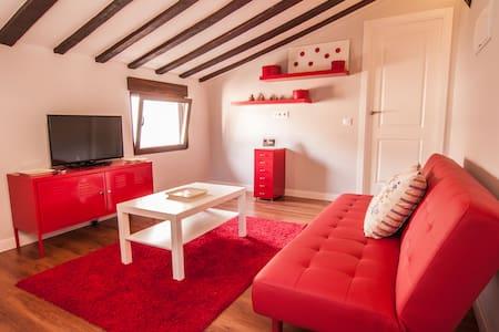 Casa roja en casco historico XVI - Toledo - Apartment