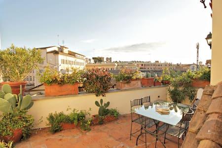 Trevi Enchanting Terrace Apartment