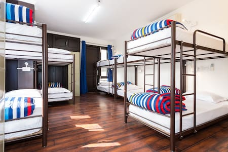 Shared Rooms at The Madpackers! - New Delhi