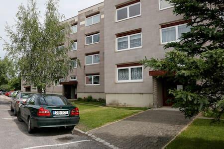 Asunto Haapsalun keskustassa  - Haus