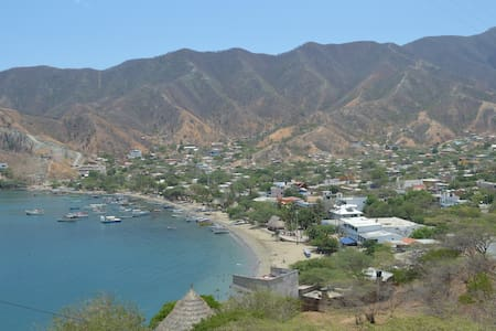 Linda cabaña con hermosa vista - Santa Marta (Centro Turistico Culturale e Storico) - Chalet