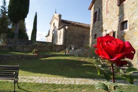 B&B heart of Tuscany-Italy- Toscana - Poggio D'acona - Lägenhet
