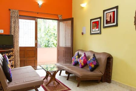 Goan Alcove - 2BHK AC Luxury Apt  - Goa - Appartamento