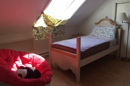 Attic one bed room and a living room in Brighton - Haus