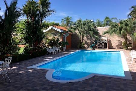 Jardin Tropical, Col Naranjal (Room 1/1st fl) - House