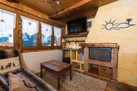 appartement cosy ski aux pieds - Lomamökki
