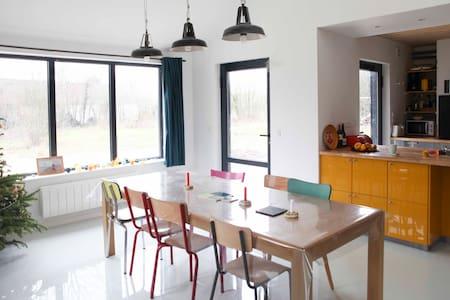 Belle maison en bois baie de Somme - Saint-Quentin-en-Tourmont