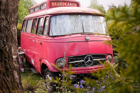 The Pink, Swedish Fire Truck  - Carrinha