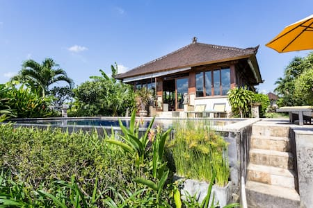 Villa in the rice fields