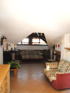Lovely apartment with lookout close to ski-resort - Andalo - Apartment