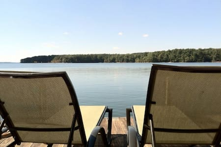 Lake Hartwell - Big Water - Dock - Haus