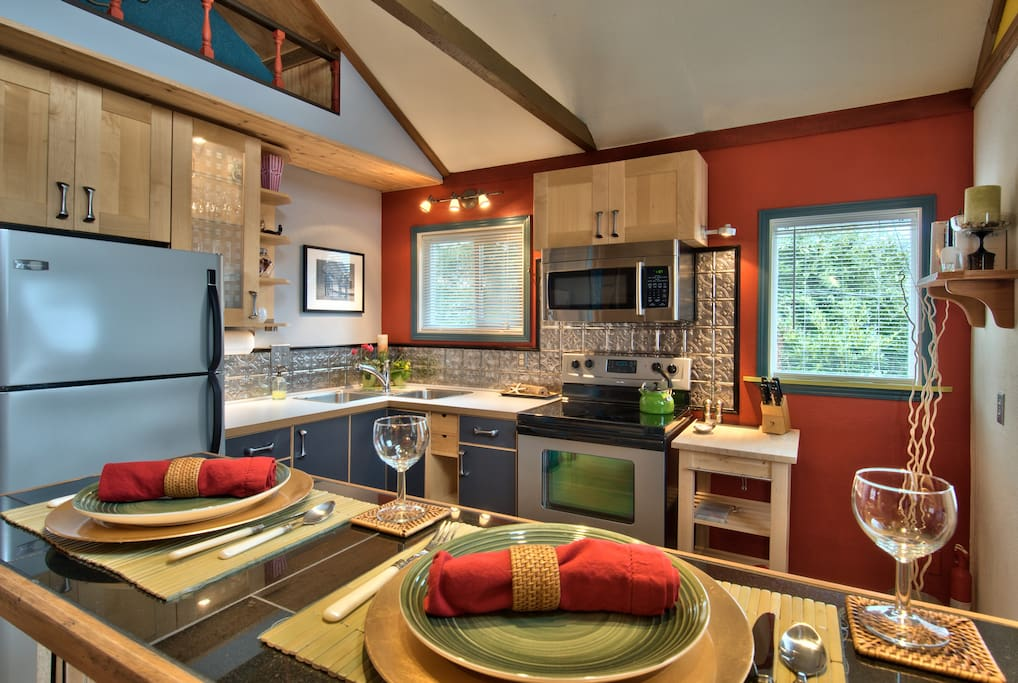 Kitchen over Bar