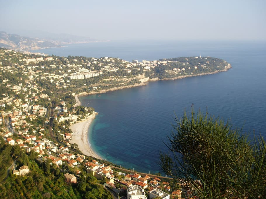 Vue Panoramique de Roquebrune Cap-Martin