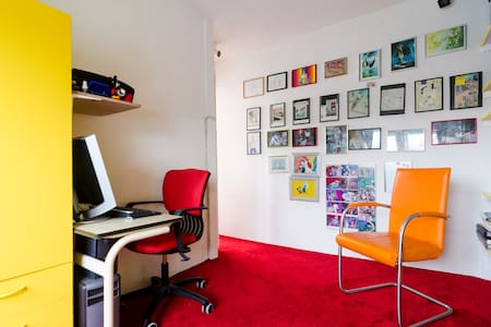 Colourfull 2 rooms: cosey area Pijp - Amsterdam - Apartment
