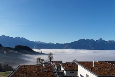 Farbig – stadtnah – über dem Nebel! - Ganze Etage
